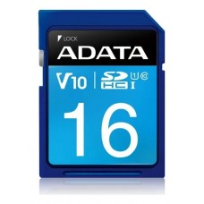 Cartão De Memória Adata Asdx16guicl10-r Premier 16gb