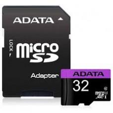 Cartão Memória Micro Sd A-data 32gb + 1 Adpt. Class 10