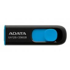 Pen Drive A-data Uv128 256gb  Azul Usb 3.2 - Auv128-256g-rbe