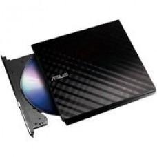Gravador Dvd Asus Externo Slim Preto 8x Sdrw08d2su