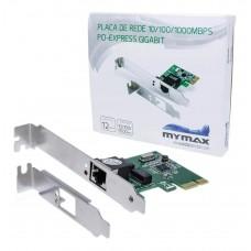 Placa De Rede Gigabit Pci-express - 10/100/1000mbps