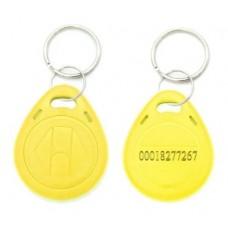 Tag Acesso Chaveiro Rfid 125khz Em4100 Amarelo