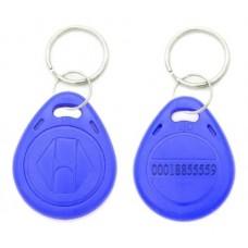 Tag Acesso Chaveiro Rfid 125khz Em4100 Azul
