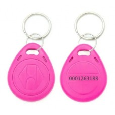Tag Acesso Chaveiro Rfid 125khz Em4100 Rosa