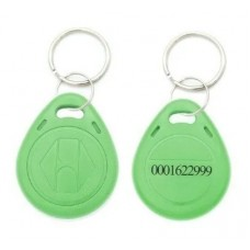 Tag Acesso Chaveiro Rfid 125khz Em4100 tag Verde