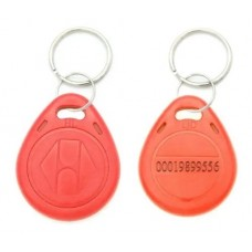 Tag Acesso Chaveiro Rfid 125khz Em4100 Vermelho