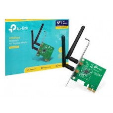 Placa De Rede Tp-link Pci Exp. Wless 300mbps 2 Antena Tl-wn881nd