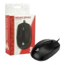 Mouse 5+ Ótico USB Office Padrao Preto 1000DPI - 015-0042