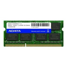 Memoria A-Data 4GB 1600MHz DDR3L  CL11 DIMM (low voltage) - ADDX1600W4G11-SPU