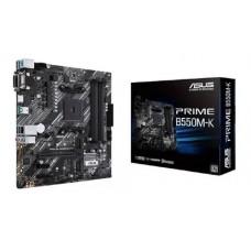 Placa mãe Asus Prime B550M-K AM4/DDR4/VGA/DVI/HDMI/M2/mATX - PRIME B550M-K