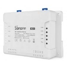 Interruptor Wi-fi Sonoff 4ch R3 1 Way Autom. Residencial