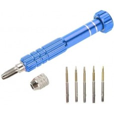 Chave Abertura Celular 5 Em 1 Pentalobe Torx azul